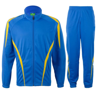 Blue Yellow TrackSuit