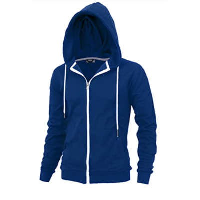 Men's Fashion Fit Full-zip HOODIE with Inner Cell Phone Pocket