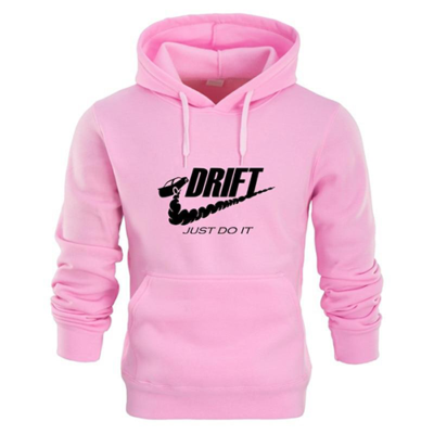 just do it pink hoodiie